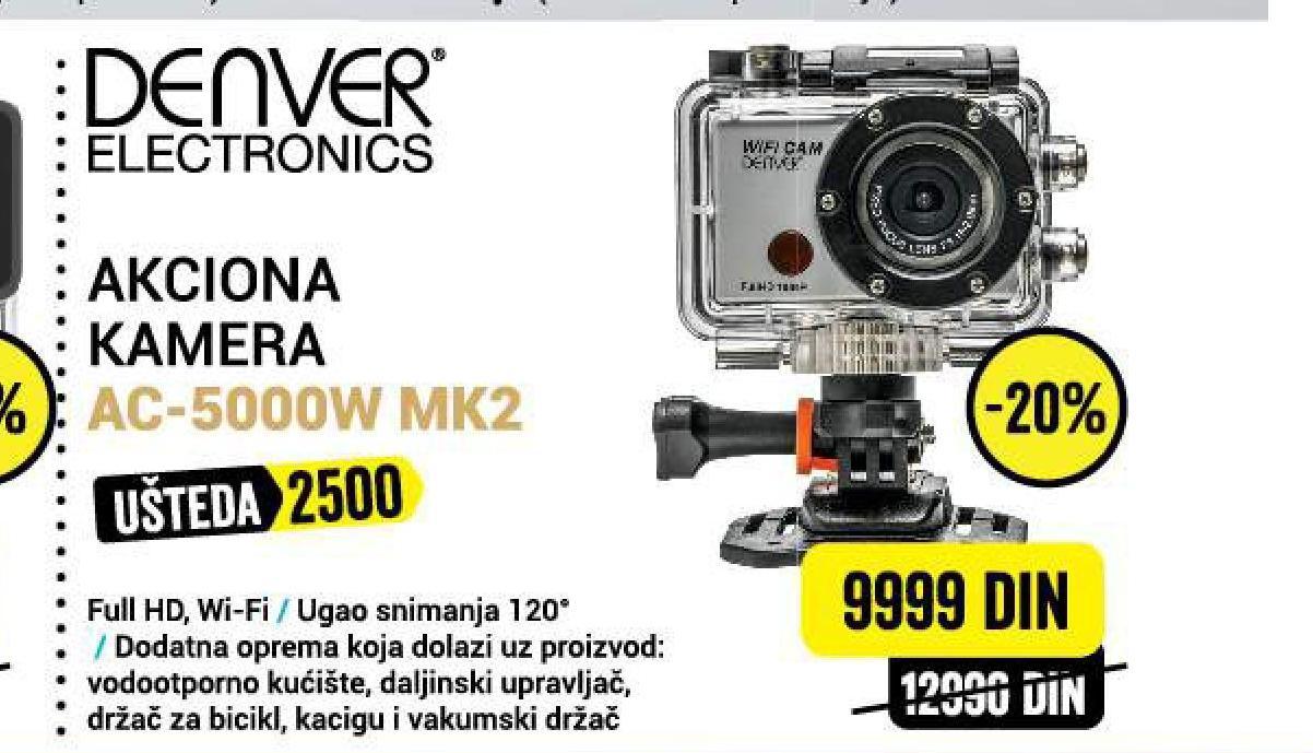 Akciona Kamera AC-5000W MK2