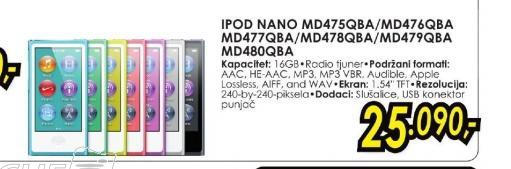 IPod nano MD477QB/A