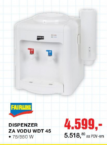 Dispanzer za vodu WDT45