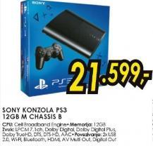 Konzola PS3 12GB M Chassis B