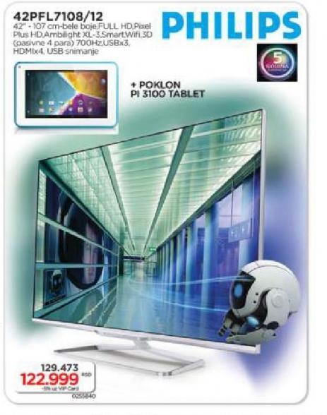LED Tv 42PFL7108/12