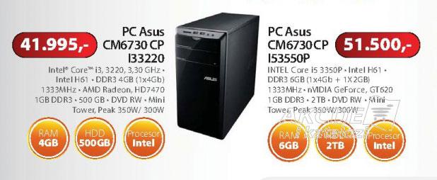 Računar Asus CM6730