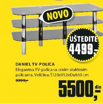 TV polica Daniel