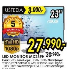 "Monitor LED 23"" Mx239h"