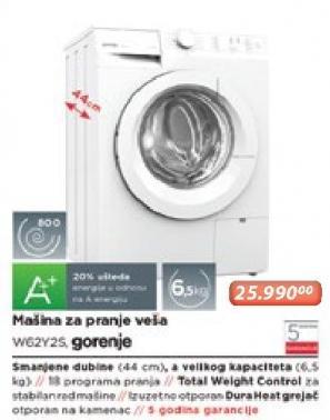 Mašina Za Pranje Veša Wg2y2s
