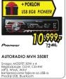 Autoradio MVH-350BT + USB