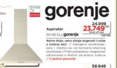 Aspirator DK 63 CLI