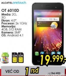 Mobilni telefon OT 6010d