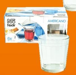 Čaše ''Americano'', voda