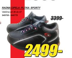 Radna cipela SPORTY, plitka