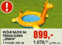 Dečiji bazen ''Žirafa'' sa prskalicama