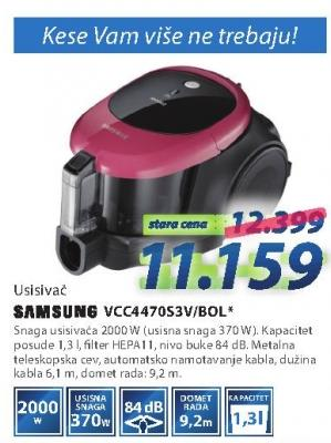 Usisivač Vcc4470s3v/bol