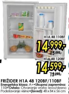 Frižider H1A 48 110BF