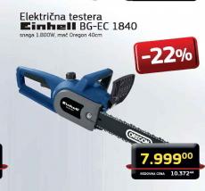 Električna Testera BG-EC 1840