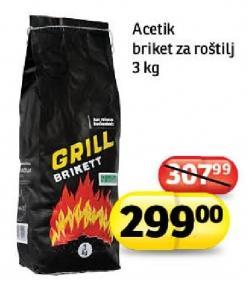 Briket za roštilj