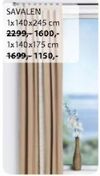 Zavesa Savalen 1x140x245cm