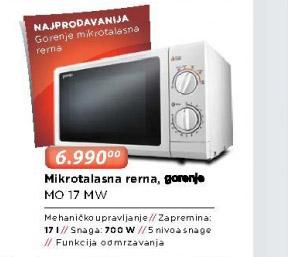 Mikrotalasna Rerna MO 17 MW
