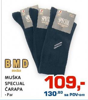 Muška specijal čarapa, BMD