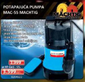Potapajuća Pumpa MAC-55