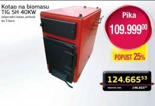 Kotao na biomasu TIG SH 40KW