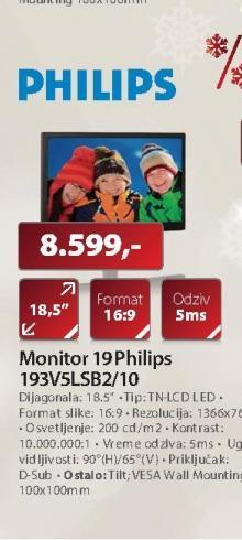"Monitor 19""193V5LSB2"