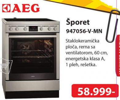 Šporet 947056-V-MN