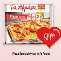 Smrznuta pizza special