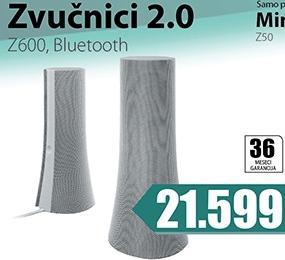 Zvučnici 2.0 Z600