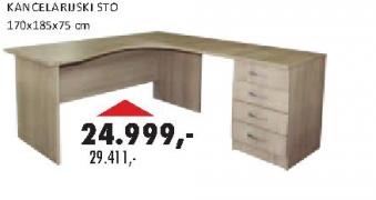 Kancelarijski sto VKR170