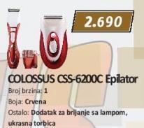 Epilator Css-6200c