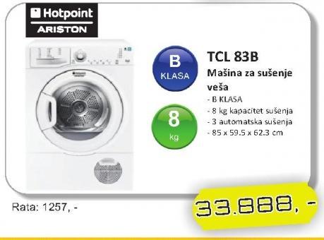 Mašina za sušenje veša TCL 83B
