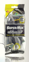 Brijač Ultimate Black 3, Super Max