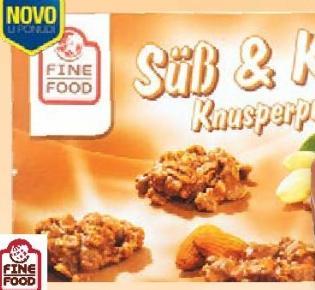 Biskvit Crunchy praline