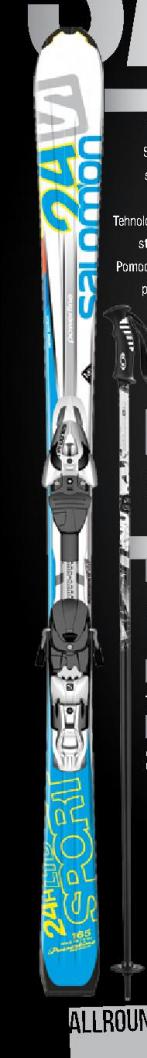 Skije 24Hours Lite sport, SALOMON