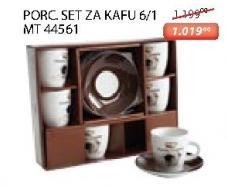 Porcelanski set za kafu 6/1 Mt 44561 Sigma