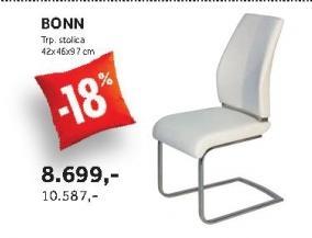 Trpezarijska stolica BONN