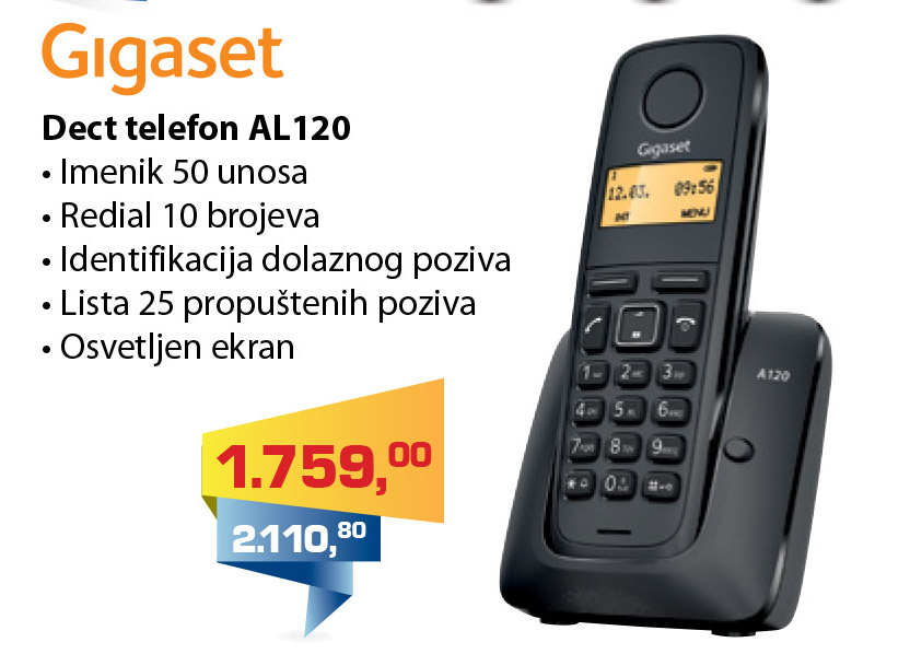 Bežični telefon Gigaset AL120