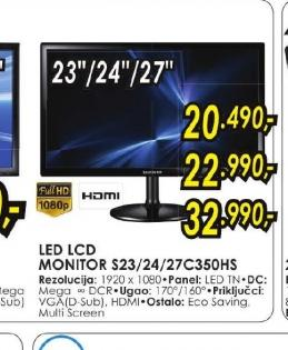 LED LCD monitor S27C350HS
