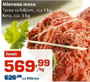 Juneće mleveno meso