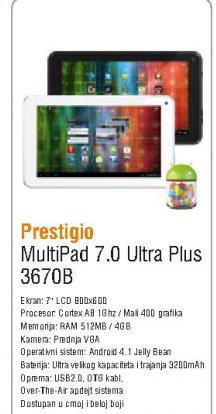 MultiPad 7.0 Ultra Plus 3670B