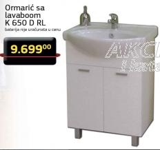 Ormarić sa lavaboom K 650 D RL