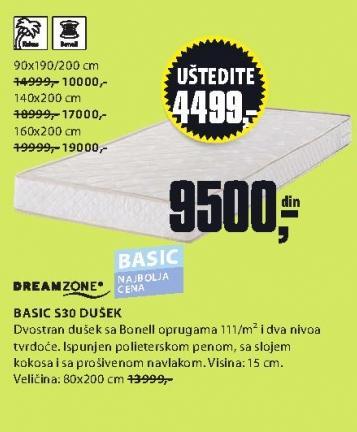 Dušek Basic S20 90x190/200