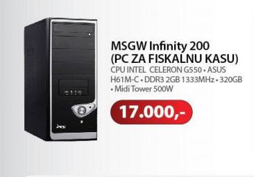 Računar MSGW Small Fiskalni
