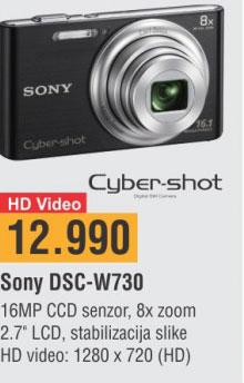 Digitalni Fotoaparat DSCW730