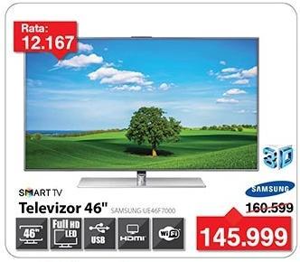 """Televizor LED 46"""" 3D Ue46f7000"""