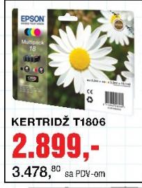 Ketridž T1806