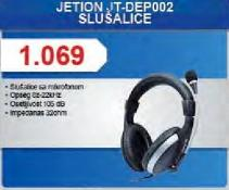 Slušalice JT-DEP002
