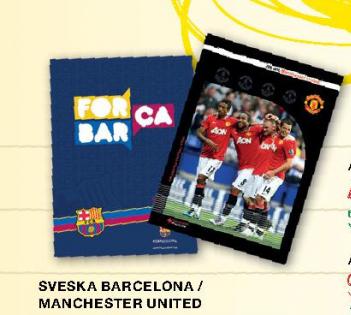 Sveska A5, Barcelona/Manchester United