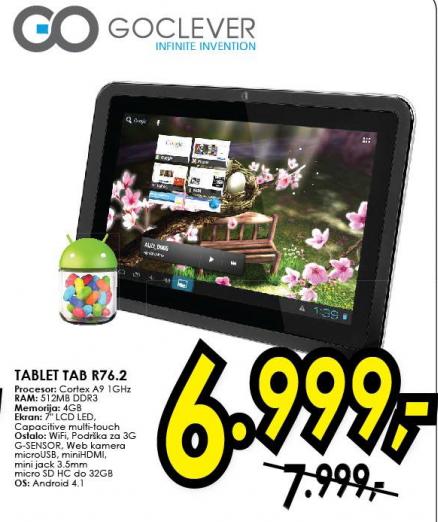 Tablet Tab R76.2