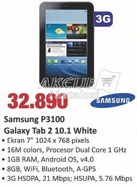 Galaxy tab 2 10.1 White P3100